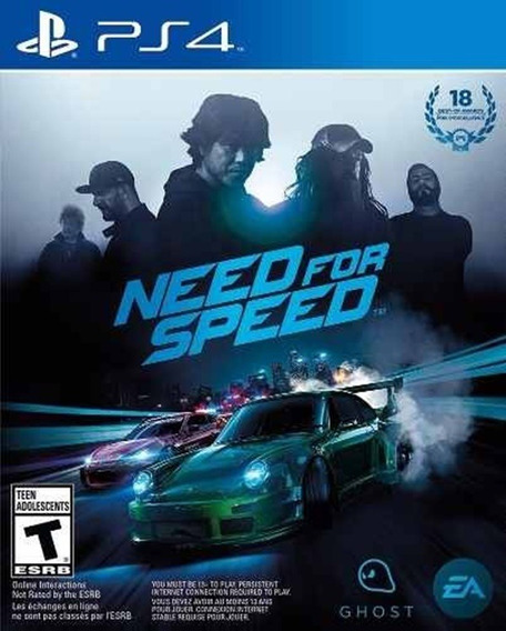 Need For Speed 2015 Ps4 Code 2 Envio Na Hora!