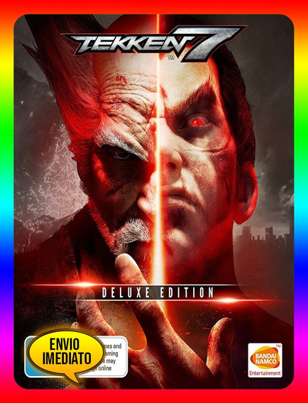 Tekken 7 Deluxe Edition Pc - Steam Key (envio Já)