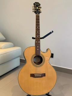 Guitarra Electro Acústica EpiPhone Pr5 Con Estuche Rígido