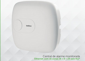 Central De Alarme Intelbras Amt 1016 Net
