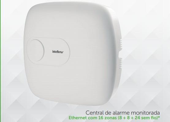 Central De Alarme Intelbras Amt 1016 Net