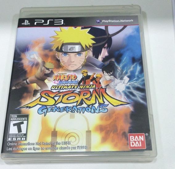 Naruto Generations Ps3 Semi Novo