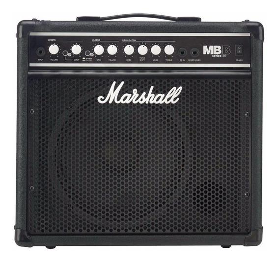 Amplificador Para Bajo Marshall Mb30 Con Compresor La Roca - Cuotas