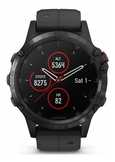 Smartwatch Gps Garmin Fenix 5 Plus Safira Monitor Cardiaco