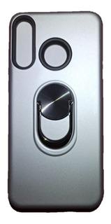 Estuche Forro Anillo Metal Huawei P30 Lite Proteccion Choque