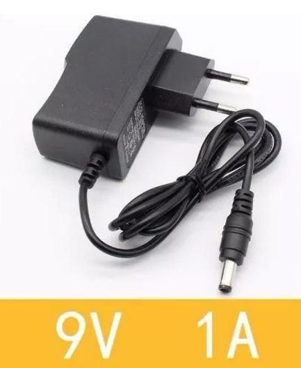 Fonte 9v 1a Plug P4 Bivolt 110-220v