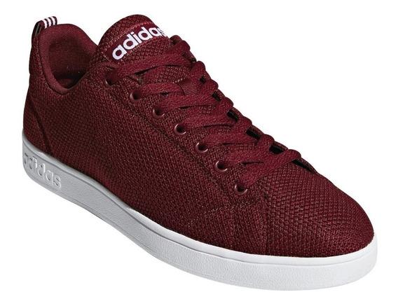 Tenis Hombre adidas Vs Advantage Cl Rojo Db0241 Original!