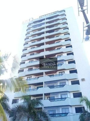 Apartamento Com 1 Dormitório À Venda, 68 M² Por R$ 210.000 - Vila Tupi - Praia Grande/sp - Ap2980