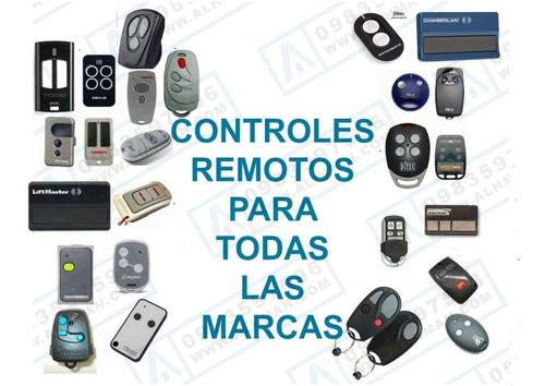 Imagen 1 de 3 de Control Remoto De Puerta De Garage, Liftmaster, Came, Linear