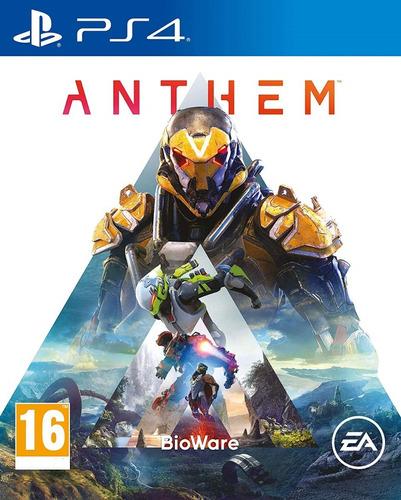 Anthem Ps4 Digital Jugas Con Tu Usuario