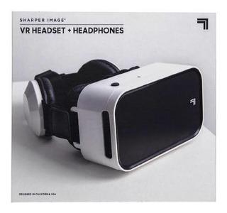 Lentes De Realidad Virtual Sharper Image+audifonos