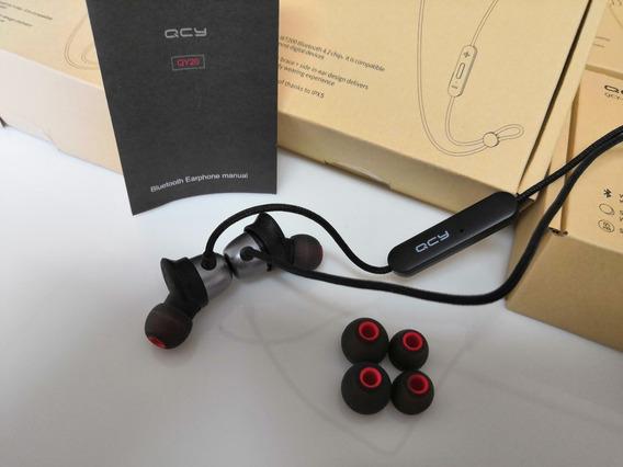 Fone De Ouvido Sem Fio Bluetooth Qcy Qy20 À Prova D
