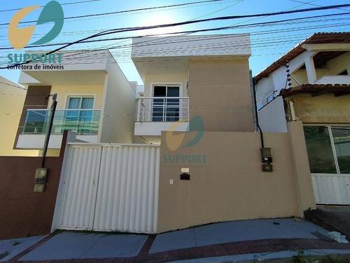 Imagem 1 de 30 de Casa Nova De 3 Quartos No Bairro Ipiranga Guarapari-es. - Es - Ca0110_supp