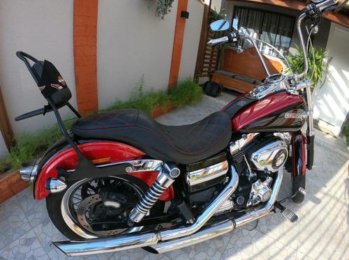 Dyna Super Glide Custom 2013/ Harley! A Mais Top Do Brasil