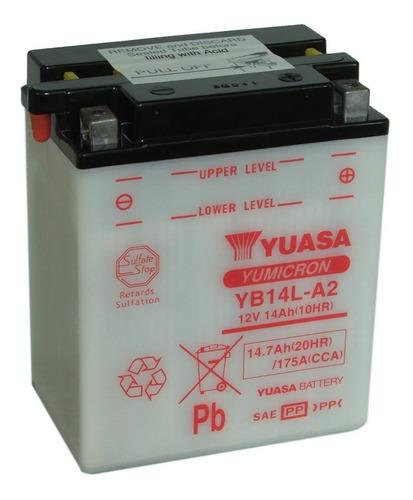 Imagen 1 de 4 de Bateria Yuasa Yb14l-a2 - Sti Motos