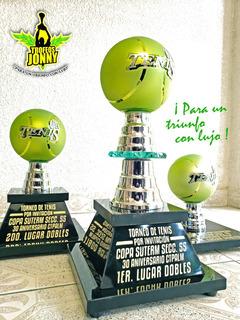Trofeos Tenis Cristal