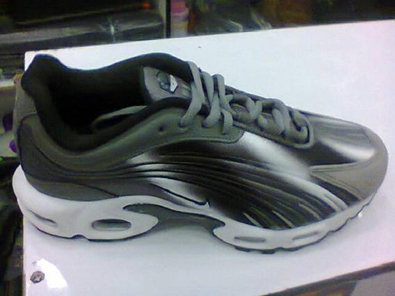 Tenis Nike Air Max Tn 99 Cinza E Branco Nº39 Original