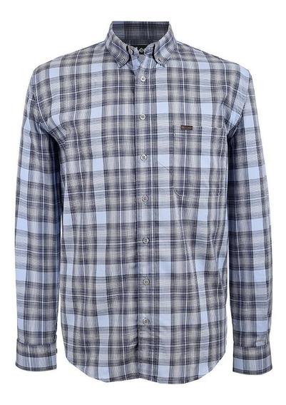 Camisa Casual Lee Hombre Manga Larga H49