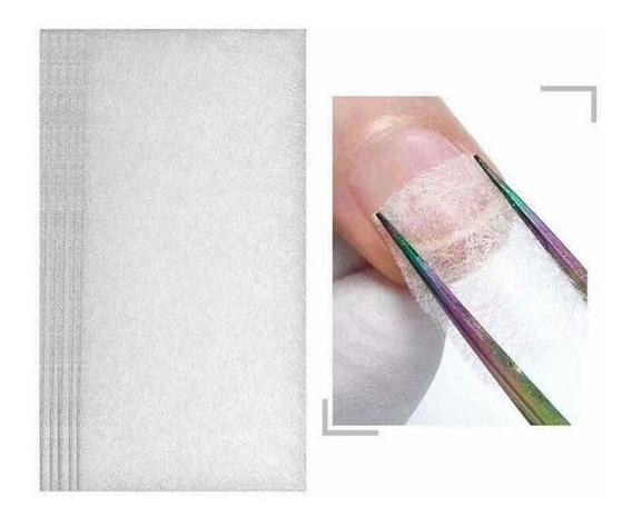 Papel Fibra De Vidrio Para Esculpido De Uñas Manicuria X 5 U