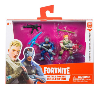 Fortnite Battle Royale Collection Muñecos Artic+acce Pack X2