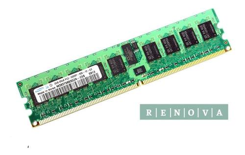Imagem 1 de 1 de Memoria Samsung 4gb(2gbx2) 1rx4 Pc2-5300p M393t5660qza-ce6q0