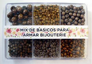Caja Acrílica Con Maderas Chocolate - Varias Para Bijou