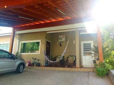 Casa Residencial À Venda, Condomínio Moradas De Itaici, Indaiatuba - Ca6185. - Ca6185