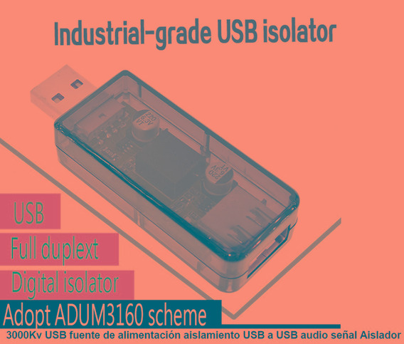 Puerto Usb 2.0 Industrial Aislado Adum3160 Full Duplex It