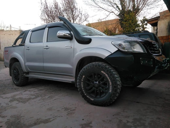 Toyota Hilux 3.0 Cd Srv Cuero I 171cv 4x4 5at 2012