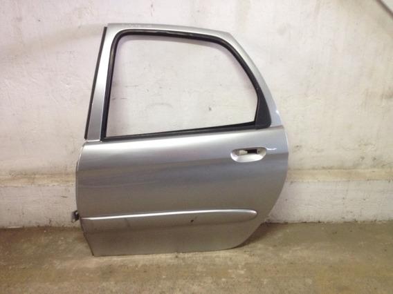 Porta Traseira Esquerda - Citroen Xsara Picasso Prata
