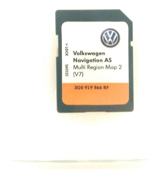 Cartão De Gps Multimídia Vw V7 3g0919866bf Original Novo