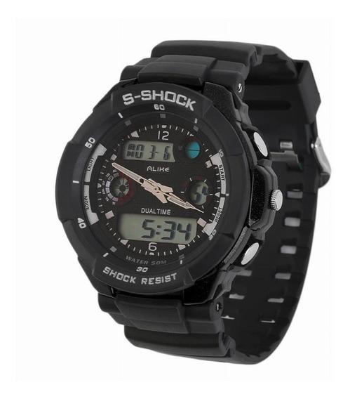 Relógio Alike S-shock Ak1170 - Preto
