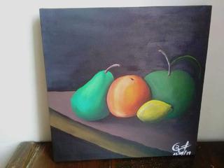 Cuadros Decorativo Bodegón Frutas