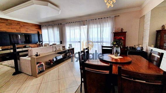 Oportunidade ! Condomínio Clube Apartamento Com 3 Dormitórios À Venda, 122 M² Jardim Das Indústrias - São José Dos Campos/sp - Ap2511