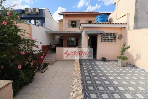 Sobrado Com 3 Dormitórios À Venda, 180 M² Por R$ 949.999,99 - Jardim Da Glória - São Paulo/sp - So0490