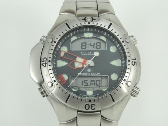 Relógio Citizen Aqualand Jp1060-52l - Diver - Original