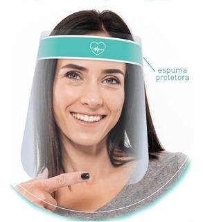 Mascara Facial Protetora Face Shield Respingos Confortável