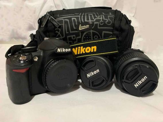 Câmera Semiprofissional Nikon D3100