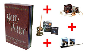 Harry Potter Guia Cinematografico + 03 Sticker Mini Varinhas