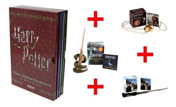 Harry Potter Guia Cinematografico + 03 Sticker Mini Varinhas