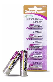 10pcs Pilha 12v A27 Controle Remoto Bateria Golden Fina