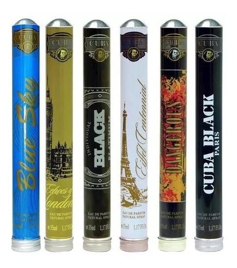 Perfume Cuba 35ml Originais