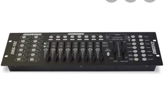 Mesa Dmx 512 Para Iluminação Operator 192