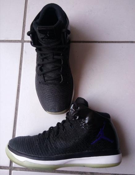 Air Jordan Xxxi Black Concord Gs Originales De Uso # 24 Mex