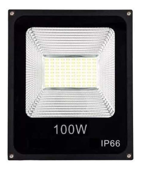 Refletor Led 100w Ip 66 A Pronta Entrega