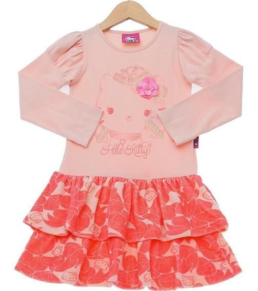 Vestido Infantil Hello Kitti
