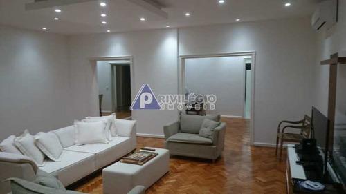 Apartamento À Venda, 3 Quartos, 1 Suíte, 2 Vagas, Flamengo - Rio De Janeiro/rj - 21375