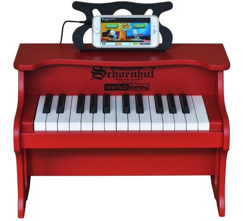Schoenhut - piano 25llave Digital Mesa Parte Superior