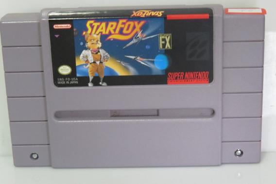 22 Star Fox Original Snes Cartucho Fita Super Nintendo