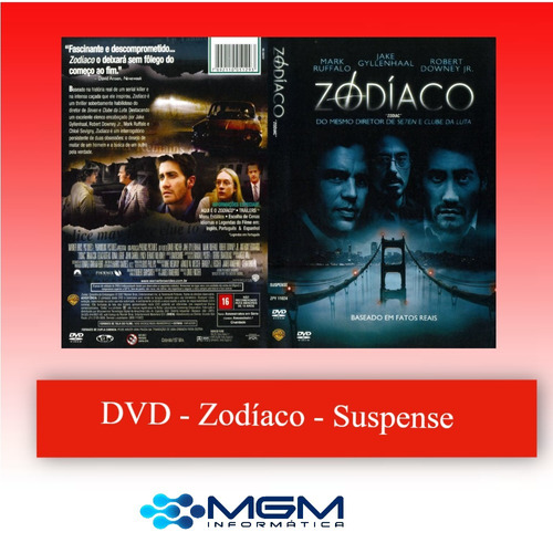 Imagem 1 de 8 de Dvd - Zodíaco - Dvd - Suspense